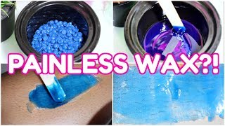 FIRST TIME TRYING PAINLESS WAX | WTF?!