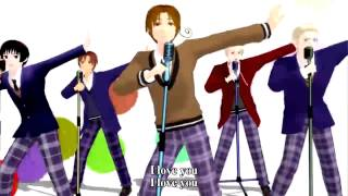 Hetalia - Heavy Rotation Subbed English and Romaji Mp3