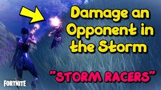 Fortnite Storm Racers - Damage an Opponent in the Storm