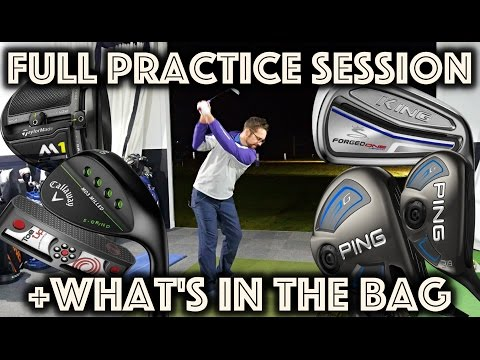Full Length Practice Diary Vlog + What's in the Bag 2017