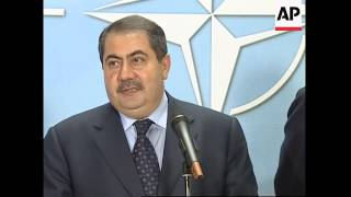 Zebari meets NATO Secretary General, appeals for aid