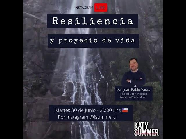 Charla Resiliencia Rector Pumahue Puerto Montt y Fundación Summer