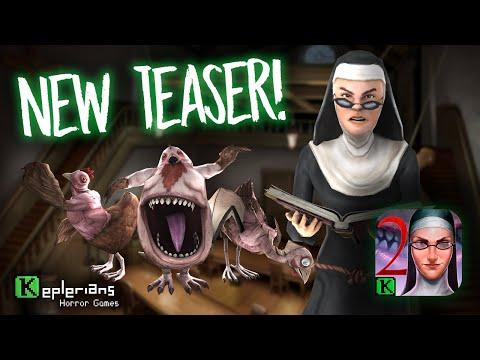 EVIL NUN 2: ORIGINS game teaser