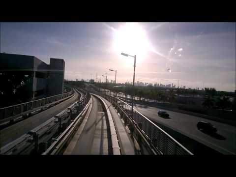 Miami Airport: International Arrival And Riding The MIA Mover