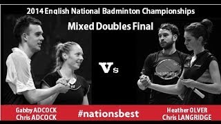 English National Badminton 2014 - Mixed Doubles Final