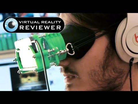 Altergaze Head Mounted Display Preview