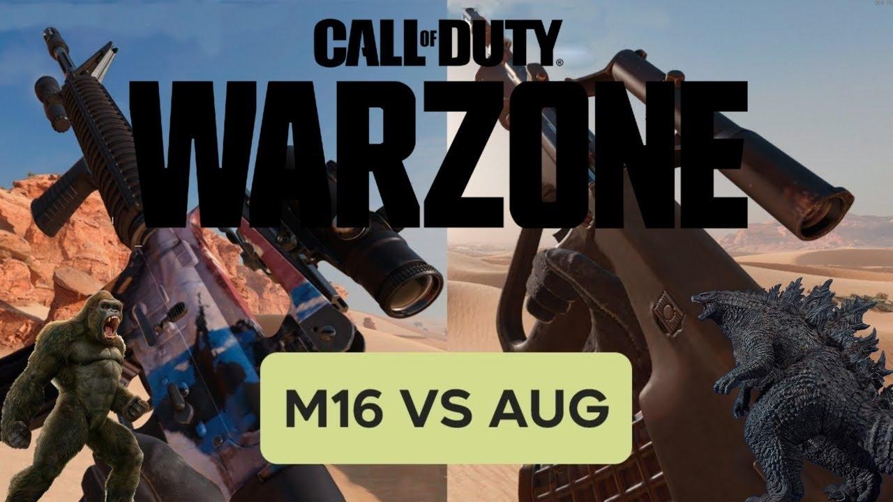 Download AUG vs M16   ¿Cuál es el Mejor Fusil de Ráfagas para Warzone? ACTUALMENTE