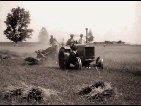 1920's Old Farm & Tractor Scenes Clarks Lake Michigan