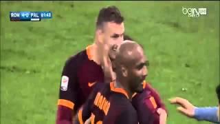 Mohamed Salah Amazing Goal   Roma vs Palermo 5-0 Serie A 2016