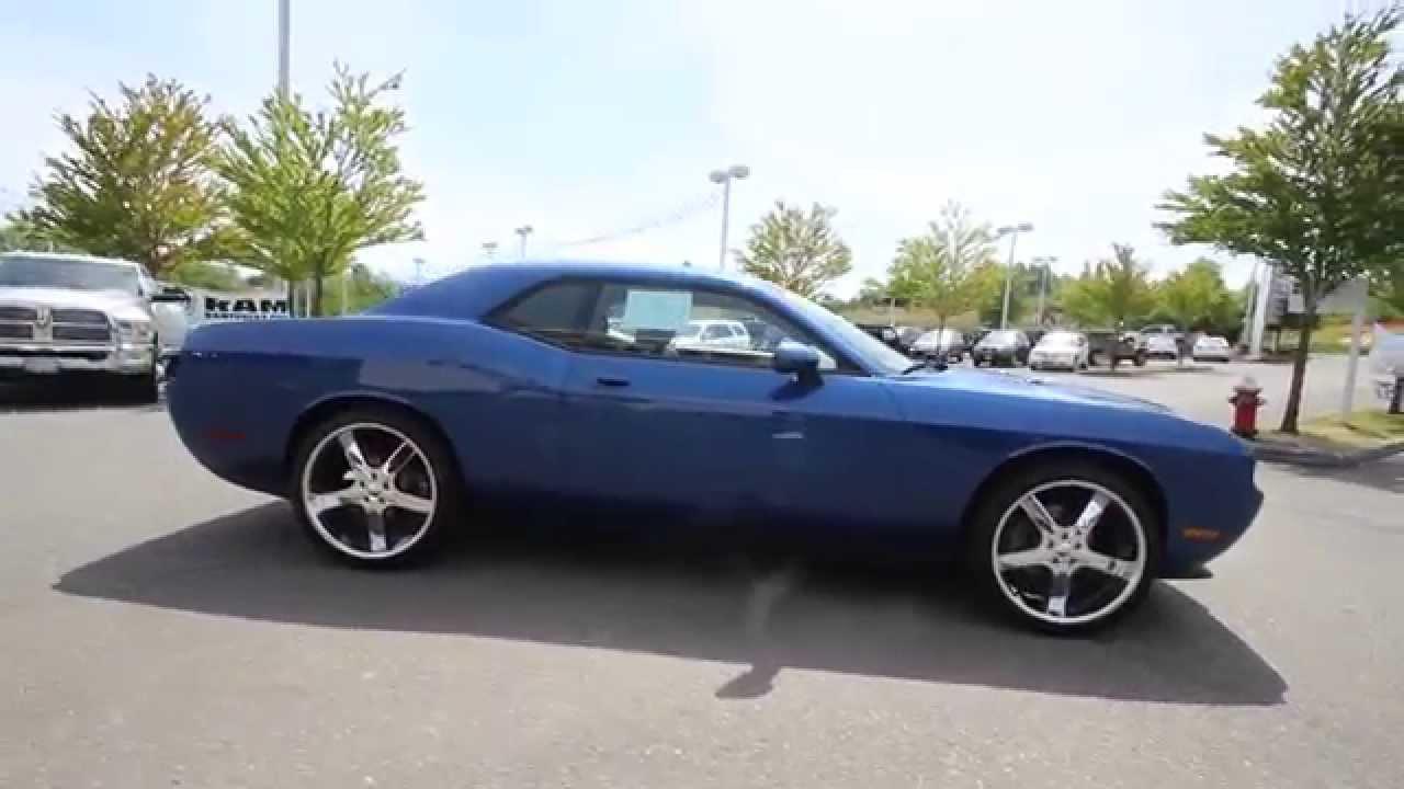 2010 Dodge Challenger Se Blue Ah131606 Everett