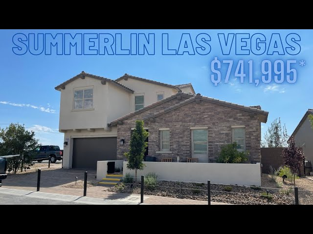 Acadia Ridge by Toll Brothers Summerlin Homes For Sale 3-5BD w/ Pop Up, Loft, Pool, $741k+ 2,824Sf