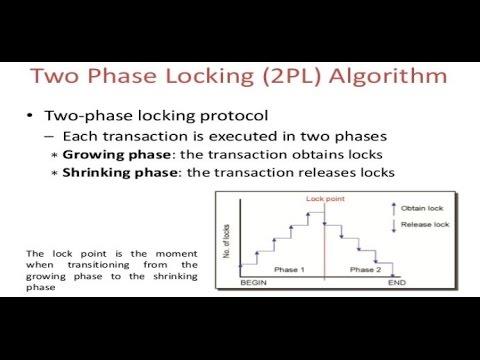 TWO PHASE LOCKING PROTOCOL (2PL)