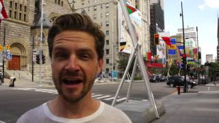 """This video is about Montreal Art Walk """"Balade pour la paix"""" on Livi..."""