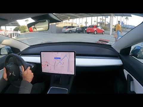 Tesla Autopilot FSD Los Angeles to Silicon Valley Zero Interventions