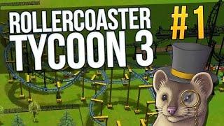 Let's Play RollerCoaster Tycoon 3 - Part 1 - VANILLA HILLS ★ Rollercoaster Tycoon 3 Gameplay