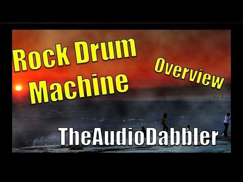 Rock Drum Machine | TheAudioDabbler Overview