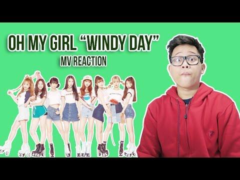 OH MY GIRL 'WINDY DAY' MV REACTION   MENENANGKAN HATI...