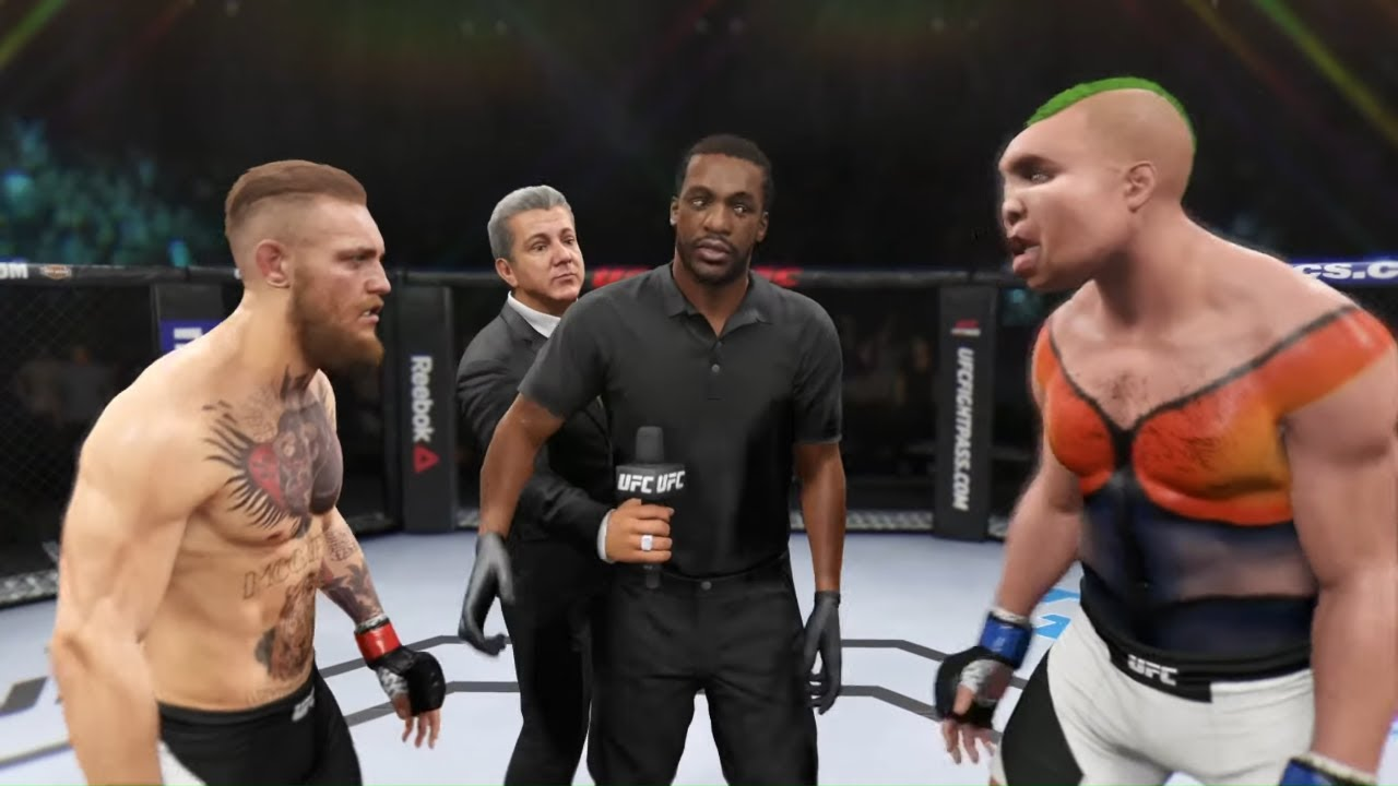Conor McGregor vs. Toxic Mutant - EA Sports UFC 2 - Original Fighters 👊