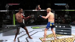 PS 4 UFC 2014 Обучение