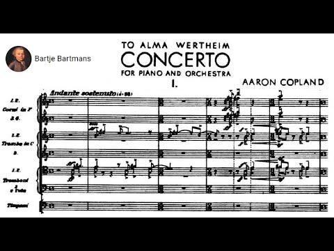 Aaron Copland - Piano Concerto (1926)