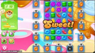 Candy Crush Jelly Saga Level 244 1*  No Boosters