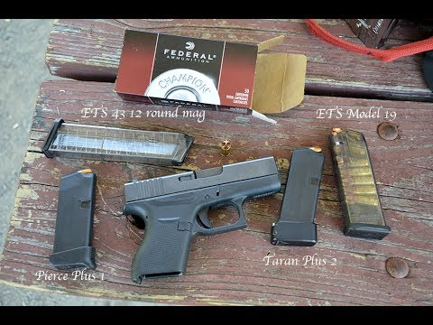 Glock 43 ETS mag test, Movie Theater shooter suppression ...
