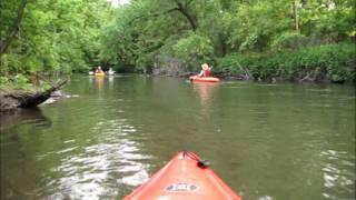 Kayaking Southern, Minnesota - Cedar River Paddle 2011 - Austin, MN