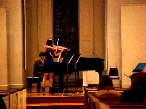 Violin Recital 2010 Fall - Luyi Yu