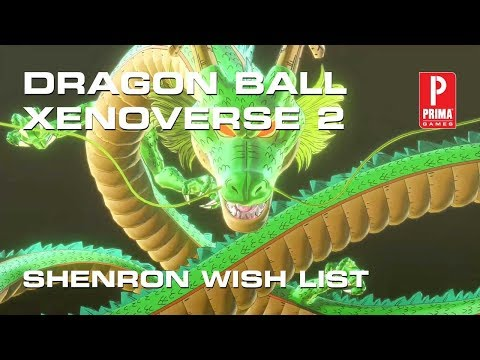 Dragon Ball Xenoverse 2 - Shenron Wishes, Unlock Hit, Eis