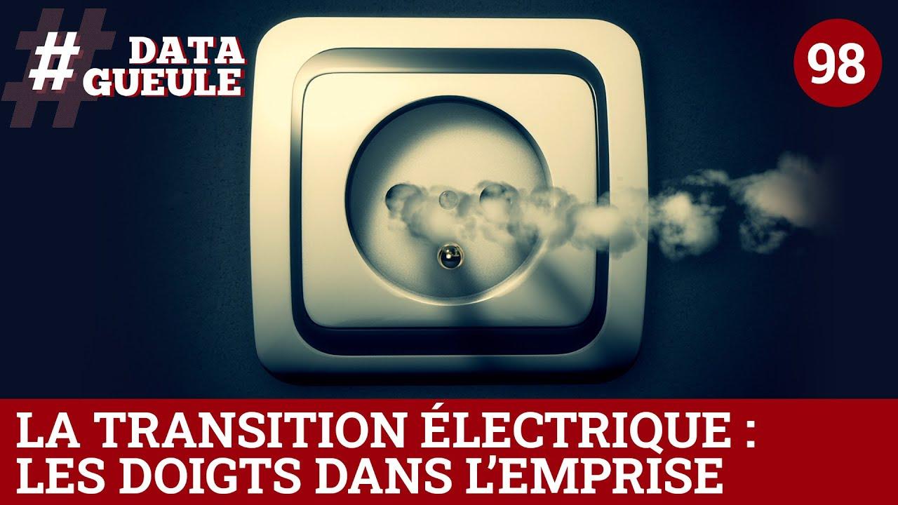 DATAGUEULE : La transition électrique : les doigts dans l'emprise.