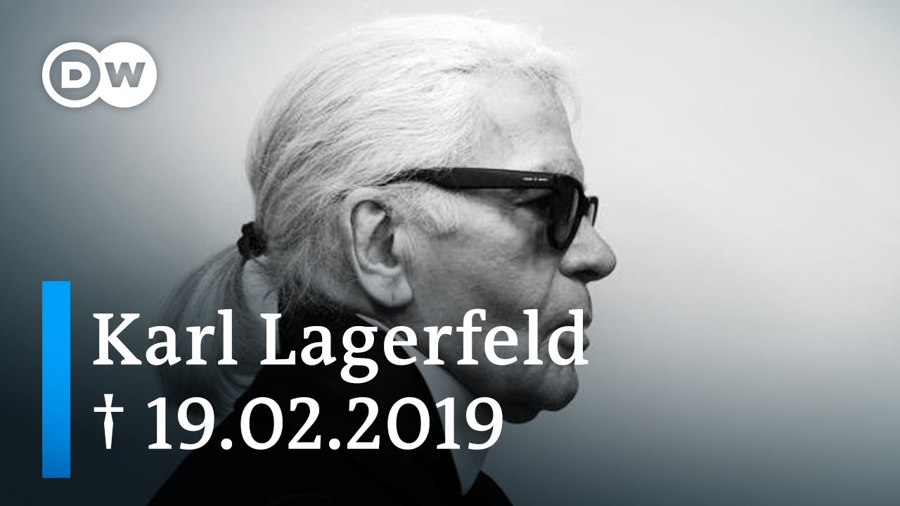 Karl Lagerfeld German Fashion Designer And Icon Dw Documentary