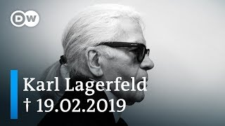 Karl Lagerfeld - fashion designer and icon | DW Documentary