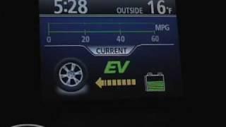 видео Toyota Highlander Hybrid, 2008