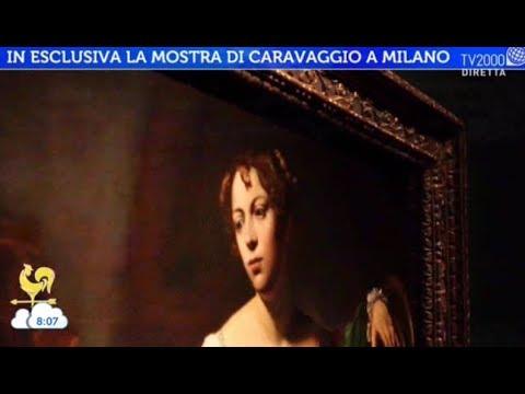 In esclusiva la mostra di caravaggio a milano youtube for Caravaggio a milano