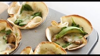 Mushroom-and-Spinach Cups | Everyday Food with Sarah Carey
