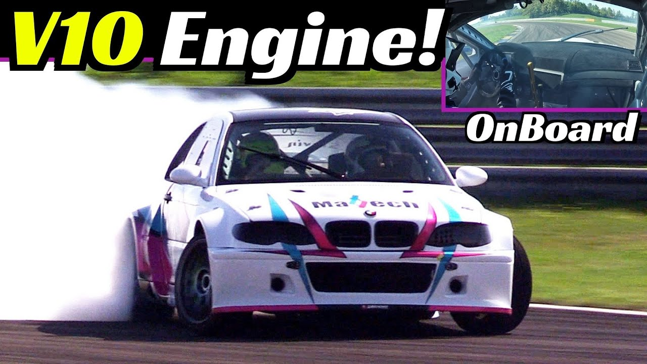 550hp BMW E46 V10 Engine Swap - Lorenzo Fattori's Ultimate Drift Weapon - OnBoard, Sound & Actions!