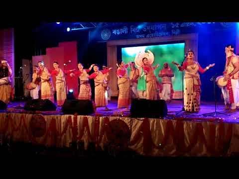 bihu performance 2018 ignca delhi