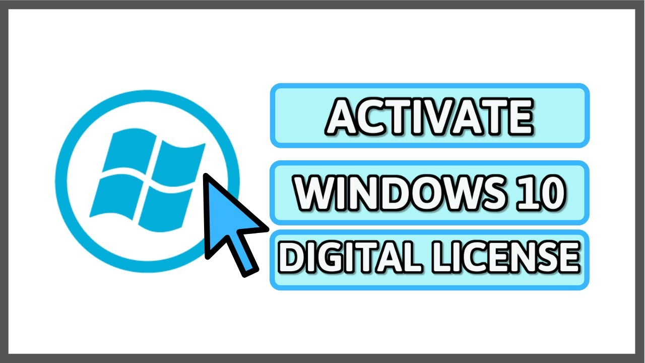 Bast Way To Windows 10 Activation All Versions With Digital License Key  Free Update 2019 ✔