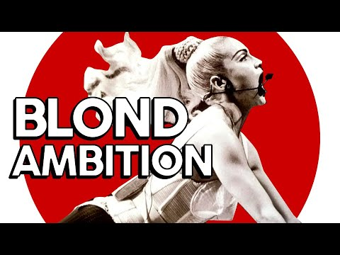 BLOND AMBITION TOUR 1990  Review turnês Madonna
