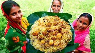 Layer Chicken Biryani Recipe  Famous ANDA CHICKEN BIRYANI Village Style  villfood