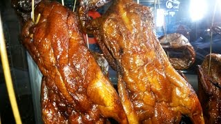 Asian Street Food - Phnom Penh Street Food - Cambodian Street Meat - Youtube