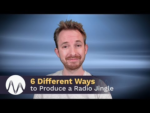 6 Different Ways to Produce a Radio Jingle
