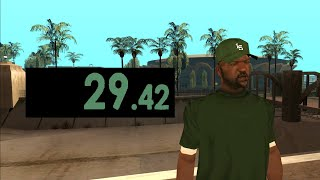 GTA SA Speedrun Sweet World Record