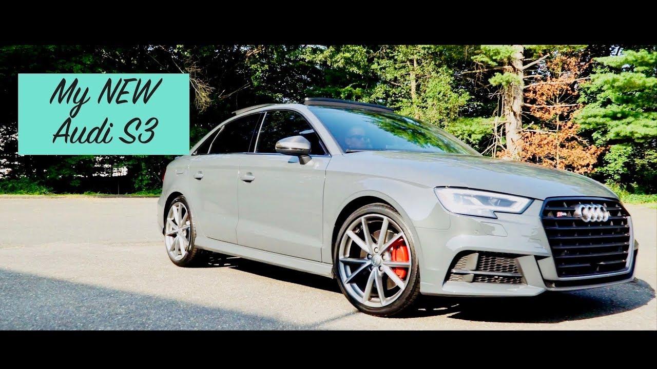 2017 Audi S3 Nano Grey