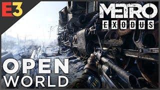 How METRO EXODUS Makes the Series Open World | Polygon @ E3 2018