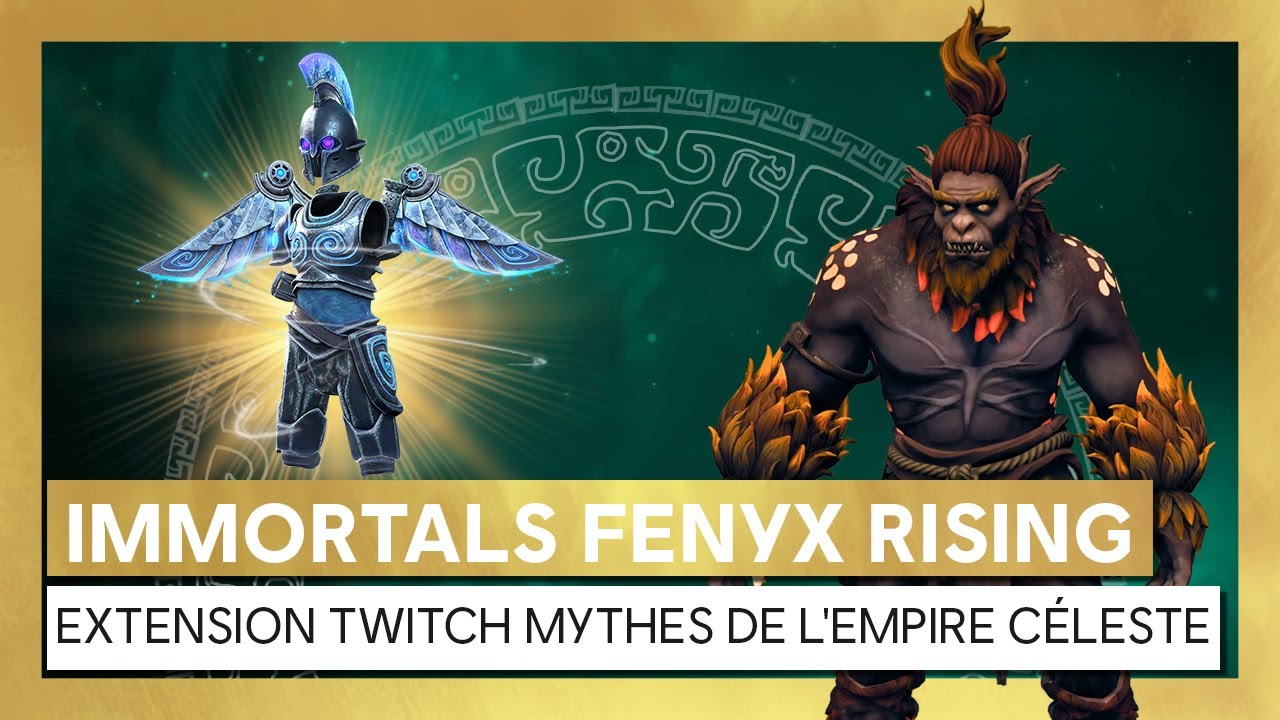Immortals Fenyx Rising - Extension Monster Hunt : Mythes de l'Empire Céleste