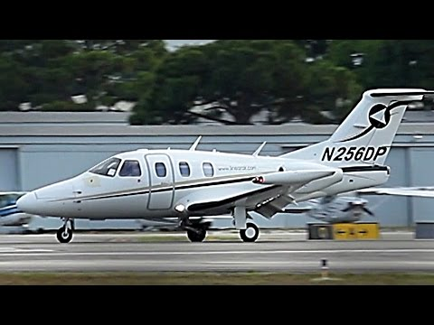 """{TrueSound}™ Eclipse 500 """"Very Light Jet"""" Landing at Ft. Lauderdale Executive [RWY 9] 4/22/15"""