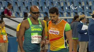 Athletics | Men's 400m - T11 Round 1 Heat 1 | Rio 2016 Paralympic Games
