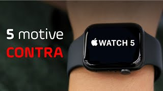 5 Motive de ce să NU cumperi Apple Watch Series 5!