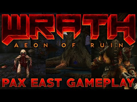 Here's a closer look at Wrath: Aeon of Ruin's PAX East demo